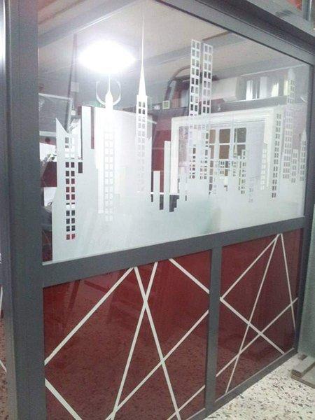 decorazione vetrata
