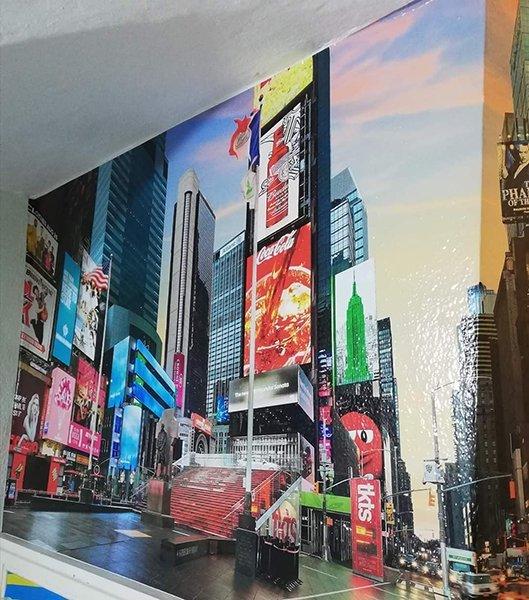 Stampa adesivo murale