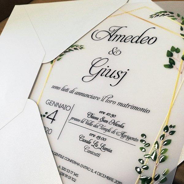 partecipazioni nozze