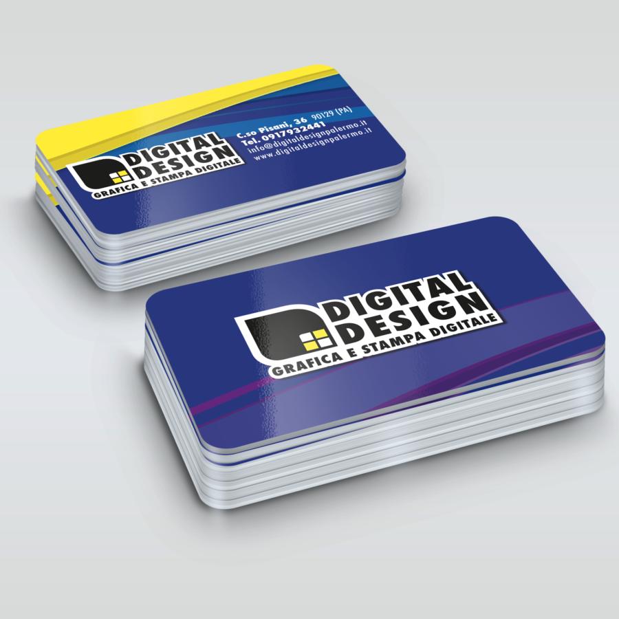 stampa card pvc