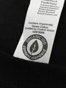 cotone organico certificato